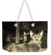 Firece Cat Weekender Tote Bag