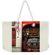 Firefighters Of New York - Engine Sweet 14 - Closeup Weekender Tote Bag