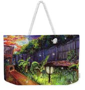 Fireflies In Woodfin Weekender Tote Bag