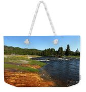 Firehole River Colors Weekender Tote Bag