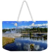 Firehole River Yellowstone Weekender Tote Bag