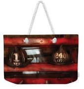 Fireman - A Salute To The Firefighter Weekender Tote Bag