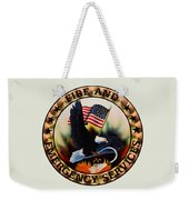 Fireman - Fire And Emergency Services Seal Weekender Tote Bag