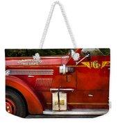 Fireman - Garwood Fire Dept Weekender Tote Bag by Mike Savad