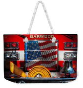 Fireman - I'll Put Your Fire Out Weekender Tote Bag by Mike Savad
