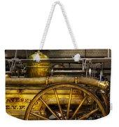 Fireman - Piano Engine - 1855  Weekender Tote Bag by Mike Savad