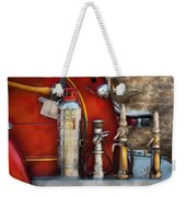 Fireman - An Assortment Of Nozzles Weekender Tote Bag