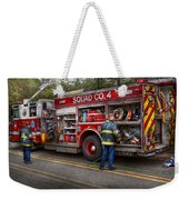 Firemen - The Modern Fire Truck Weekender Tote Bag