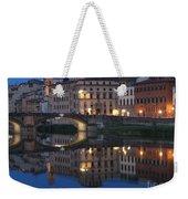 Firenze Blue I Weekender Tote Bag