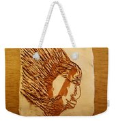 Fires Eyes - Tile Weekender Tote Bag