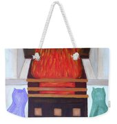 Fireside With You Weekender Tote Bag