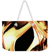 Firewater 1 - Buy Orange Fire Art Prints Weekender Tote Bag