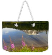 Fireweed Reflections Weekender Tote Bag