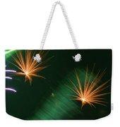 Firework Abstract Weekender Tote Bag