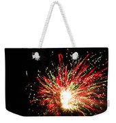 Firework Christmas Sparkle Weekender Tote Bag
