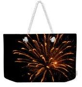 Firework Golden Lights Weekender Tote Bag