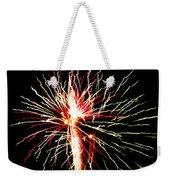 Firework Pink And Green Streaks Weekender Tote Bag