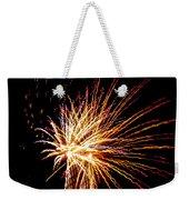 Firework Symphony Weekender Tote Bag