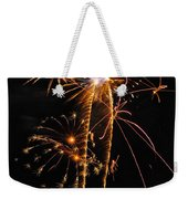 Fireworks 2 Weekender Tote Bag by Michael Peychich