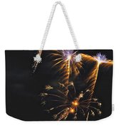 Fireworks 3 Weekender Tote Bag by Michael Peychich