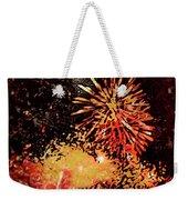 Fireworks 4 Weekender Tote Bag