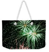 Fireworks 4 Weekender Tote Bag by Michael Peychich