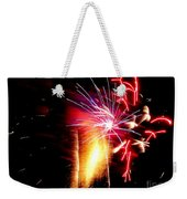 Fireworks Abstract #8 Weekender Tote Bag