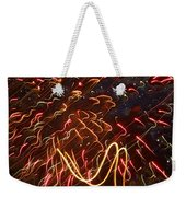 Fireworks Against The Stars Weekender Tote Bag