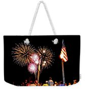 Fireworks And The Flag Weekender Tote Bag