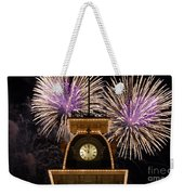Fireworks At Ten Weekender Tote Bag