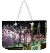 Fireworks At The Jake Weekender Tote Bag