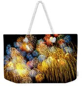 Fireworks Exploding  Weekender Tote Bag by Garry Gay