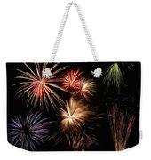 Fireworks Weekender Tote Bag by Jeff Kolker