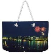 Fireworks Over Halifax Harbor Celebrate Weekender Tote Bag