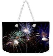 Fireworks Over Lake #14 Weekender Tote Bag