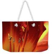 Firey Lily Weekender Tote Bag