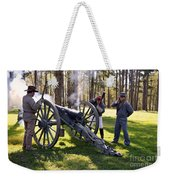 Firing The Cannon Weekender Tote Bag
