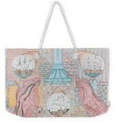 First Bridge With Ships Weekender Tote Bag