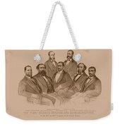 First Colored Senator And Representatives Weekender Tote Bag