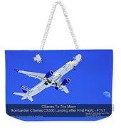 First Cseries Cs300 First Flight Weekender Tote Bag