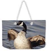 First Day Of Spring Goose Weekender Tote Bag