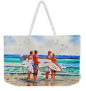 First Day Of Summer Weekender Tote Bag