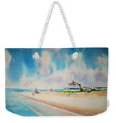 First Day Of Vacation Is Pricless Weekender Tote Bag