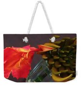 First Flower Weekender Tote Bag