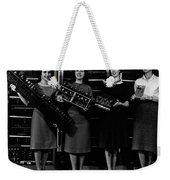 First Four Computer Circuit Boards Weekender Tote Bag