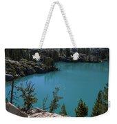 First Lake Weekender Tote Bag