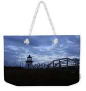 Daybreak At Doubling Point Light  Weekender Tote Bag