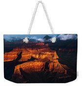 First Light - Grand Canyon Weekender Tote Bag