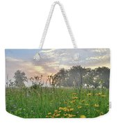 First Light In Glacial Park Weekender Tote Bag