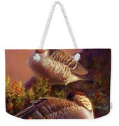 First Light Nene Hawaiian Goose Weekender Tote Bag